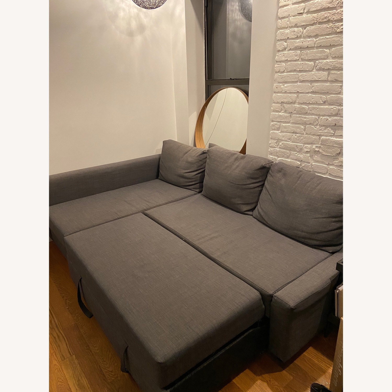IKEA Friheten Sleep Sofa w/ Storage - image-2