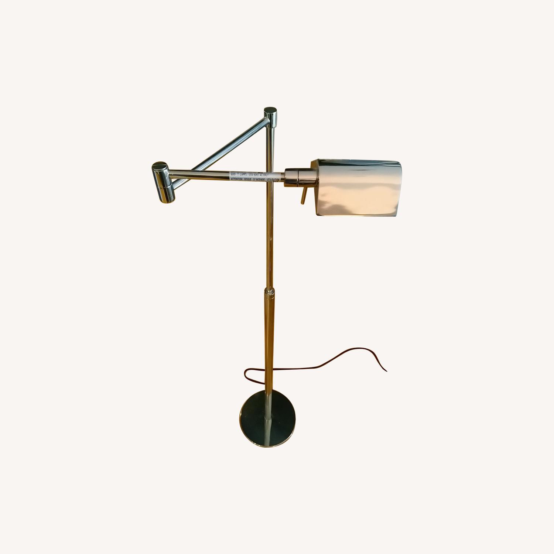 Shiny Floor Reading Lamp - image-0