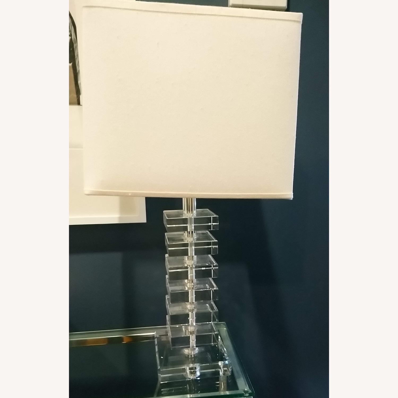 Fresh Glass Stacking Block Table Lamp - image-3