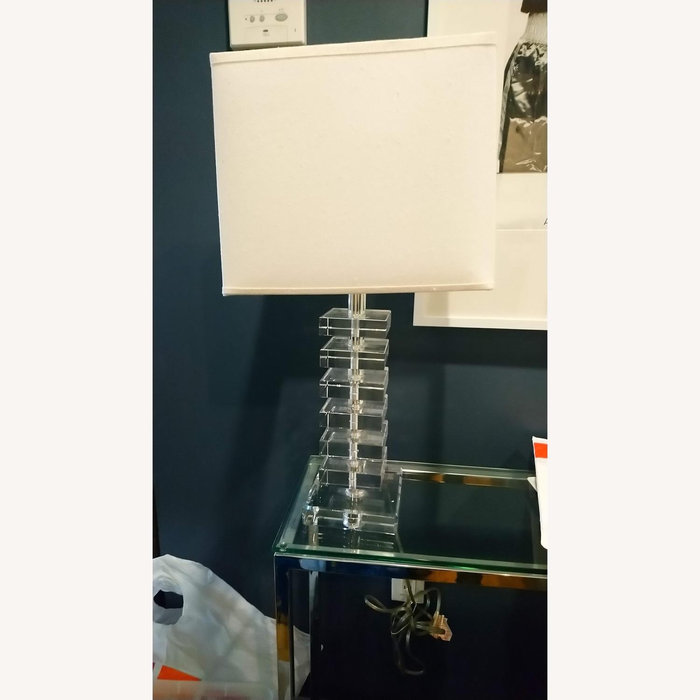 Fresh Glass Stacking Block Table Lamp - image-1