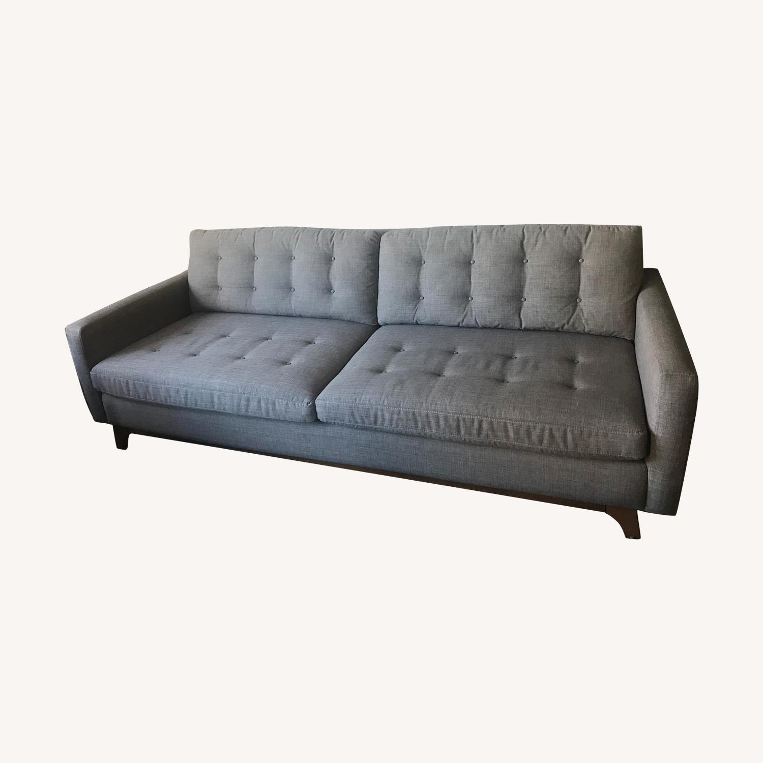 Mid Century MadMen Couch - image-0