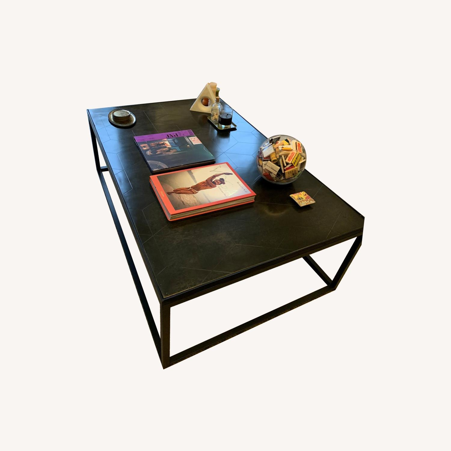 Room and Board Leather Ravella Bench - image-0