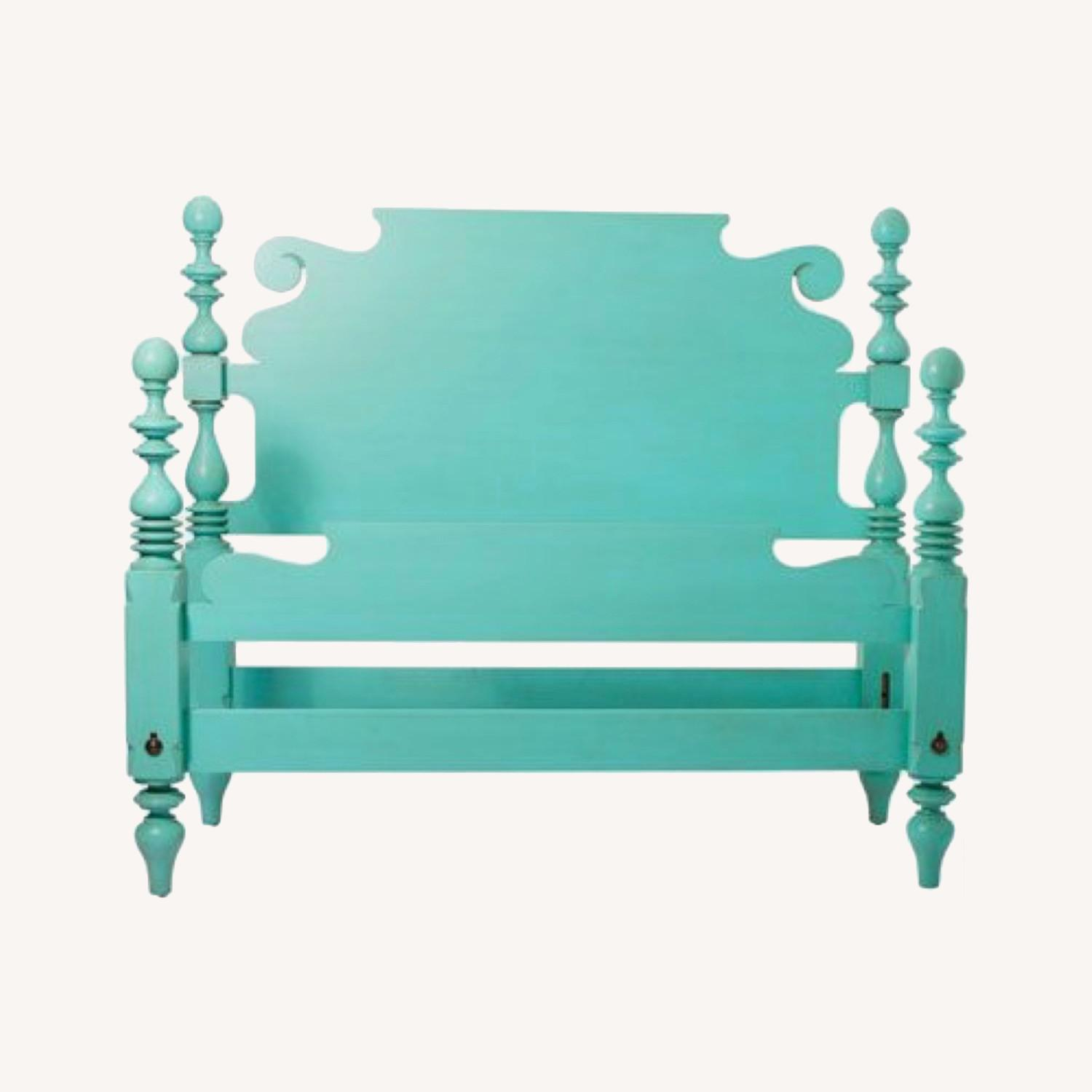 Ethan Allan Queen Size Bed - image-0