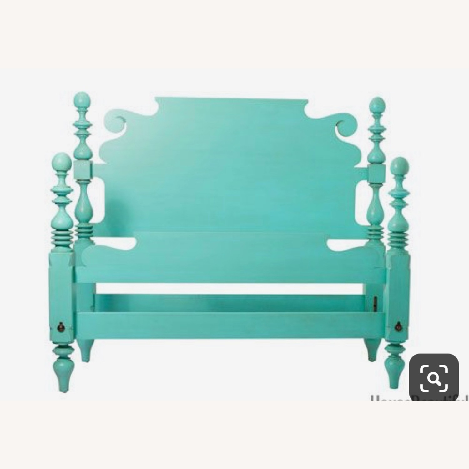 Ethan Allan Queen Size Bed - image-1