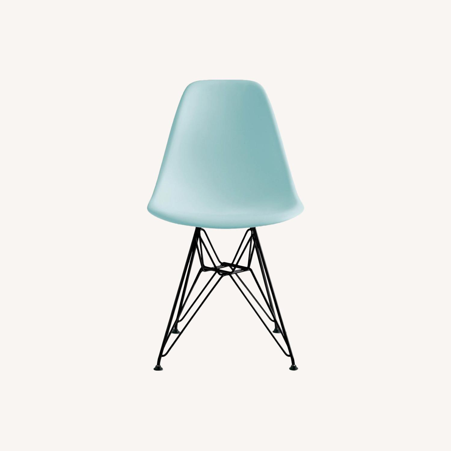 Aqua Sky Dinning Chair by Eames - image-0