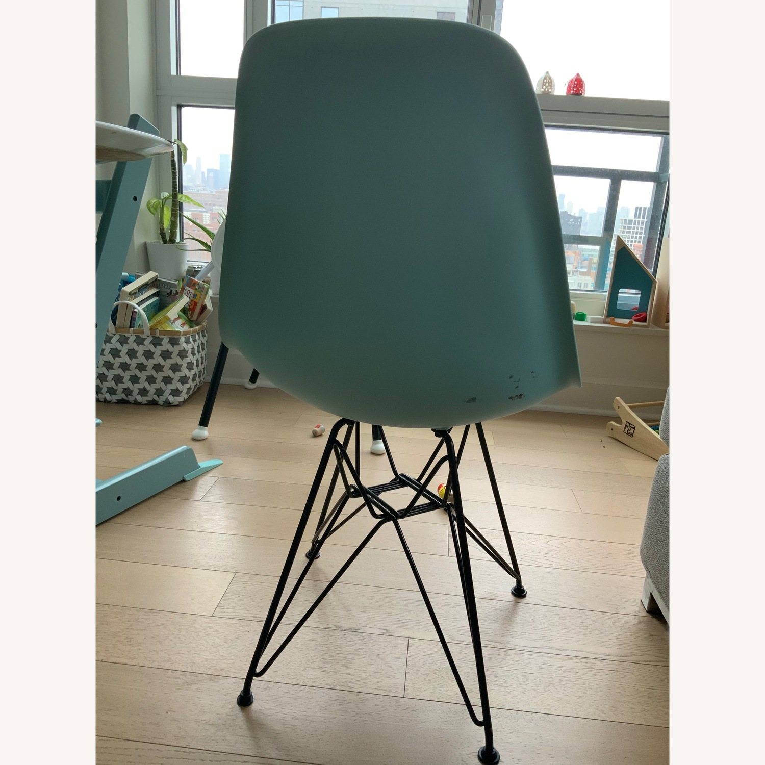 Aqua Sky Dinning Chair by Eames - image-2