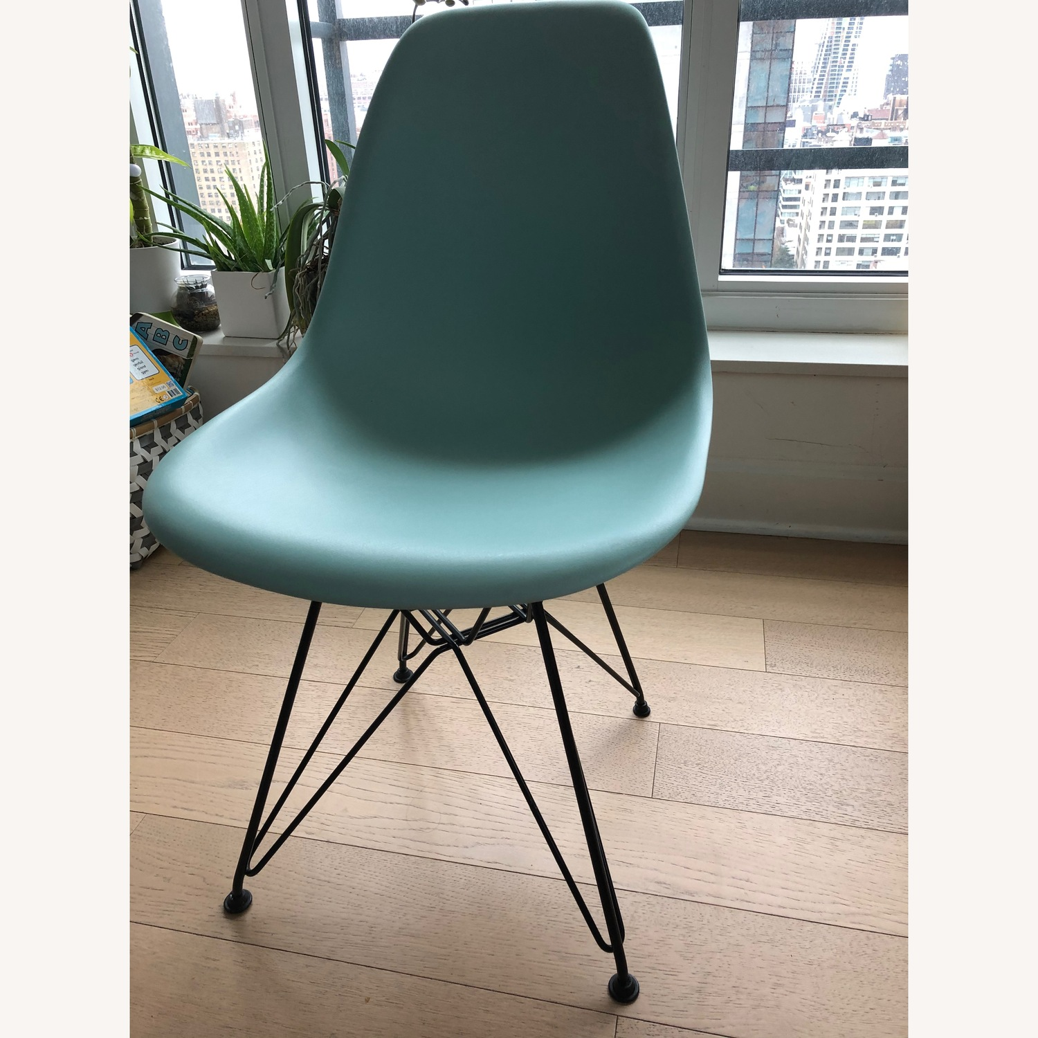 Aqua Sky Dinning Chair by Eames - image-1