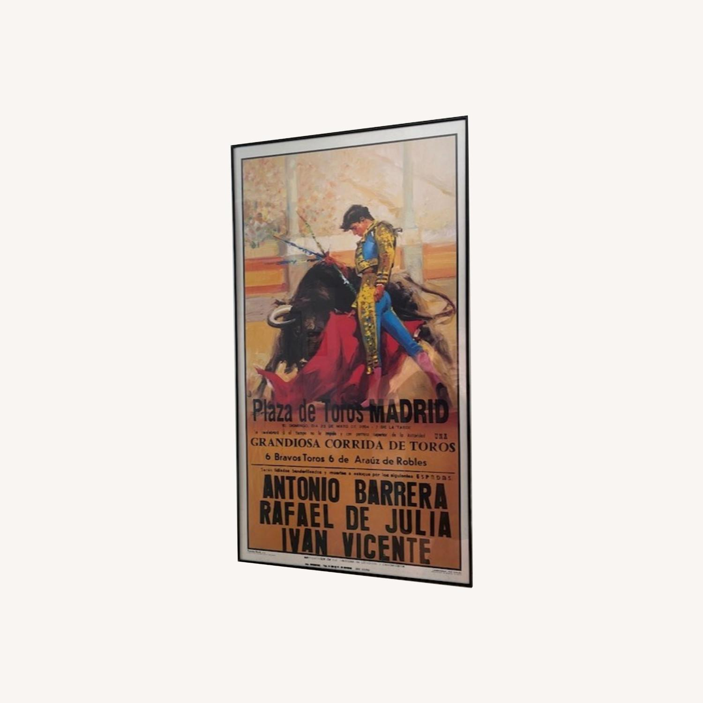 2004 Plaza de Toros Madrid Bullfighting Poster - image-7