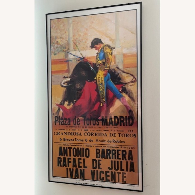 2004 Plaza de Toros Madrid Bullfighting Poster - image-1