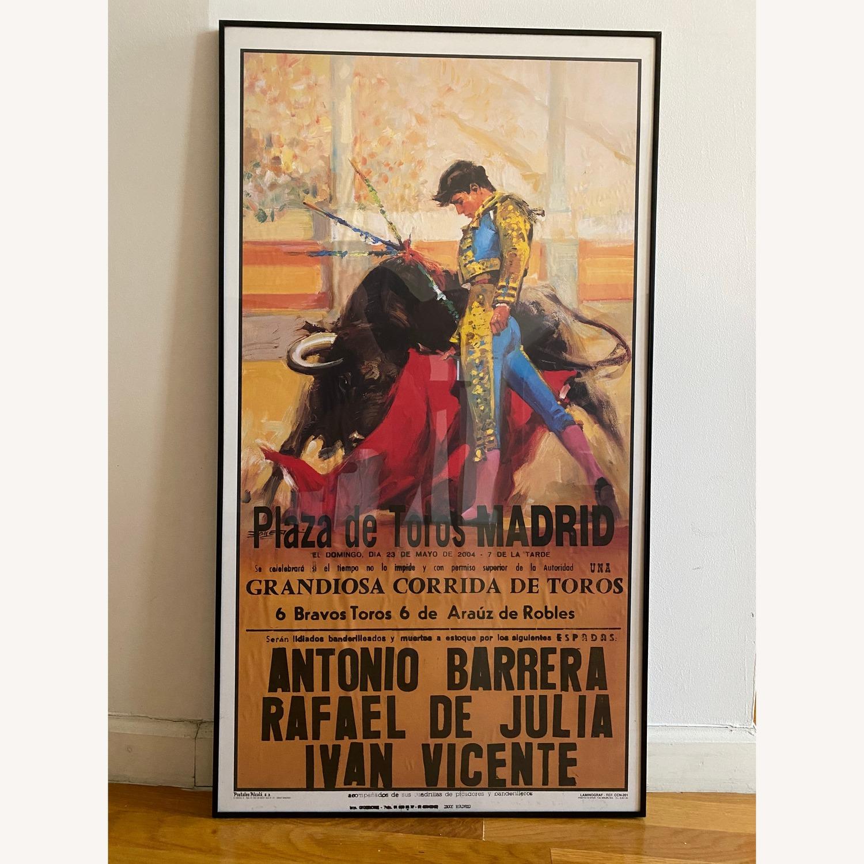 2004 Plaza de Toros Madrid Bullfighting Poster - image-0