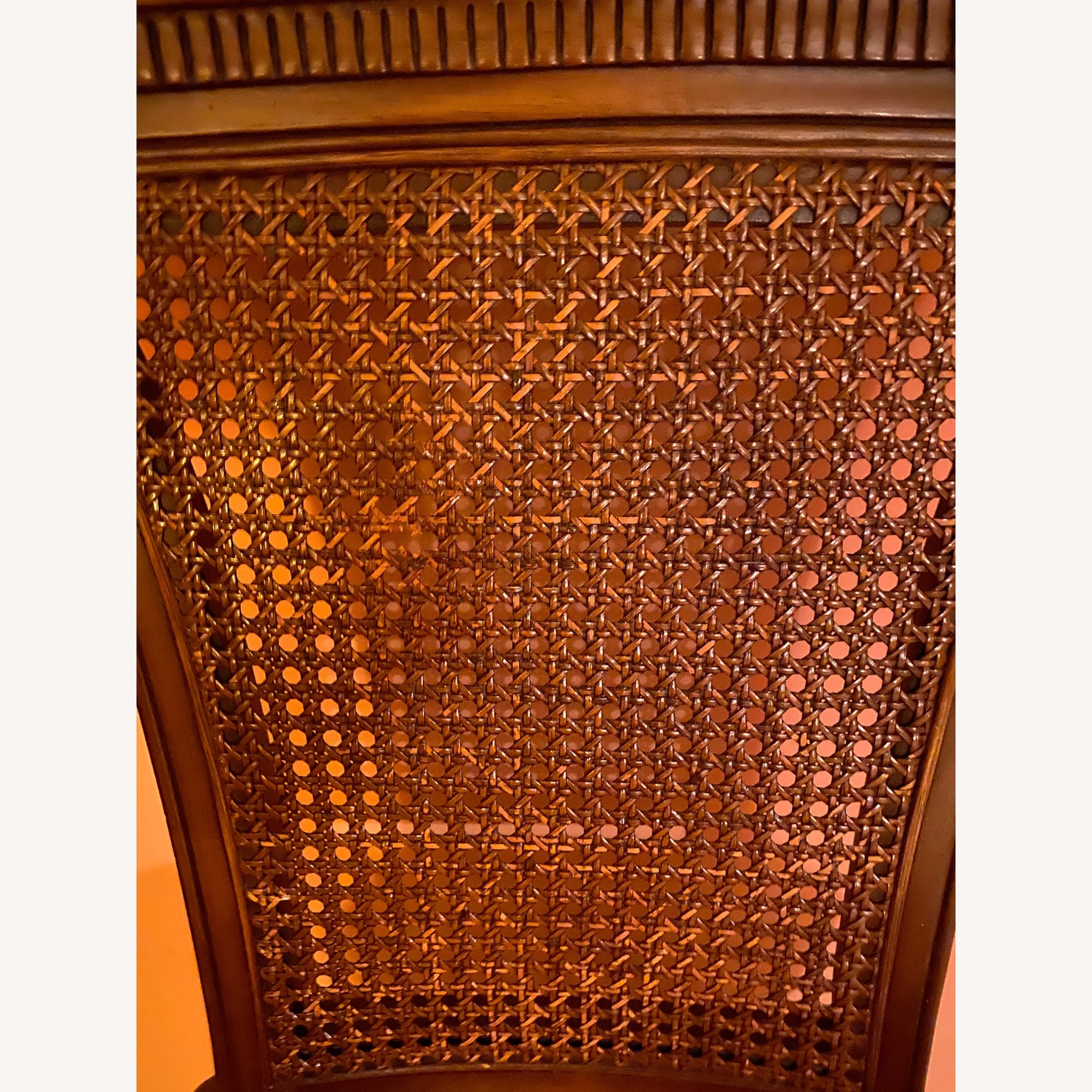 Antique side chair in red - image-4