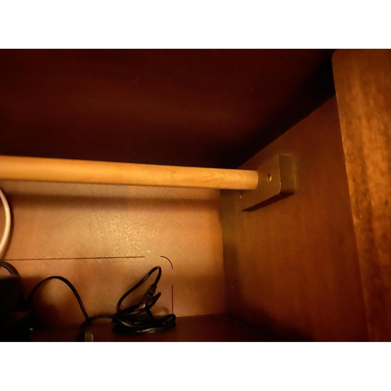 Cherry wood Armoire/ Entertainment center - image-6