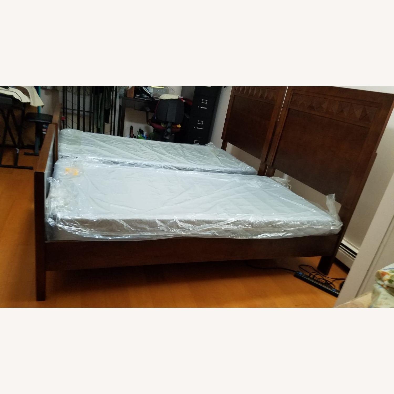 Raymour & Flanigan Shadow Twin Bed - image-3