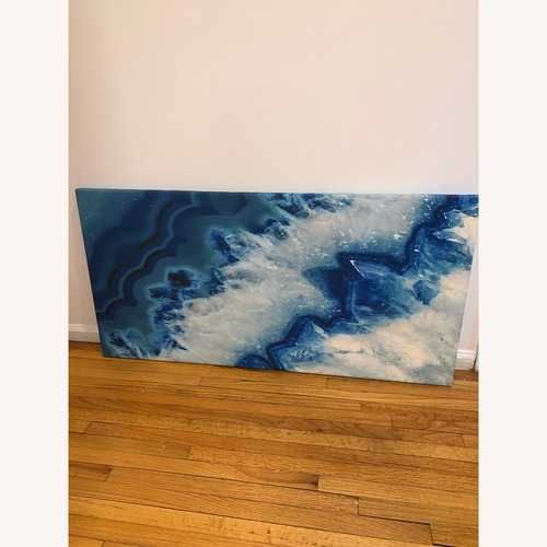 Used Blue and White Wall Art for sale on AptDeco