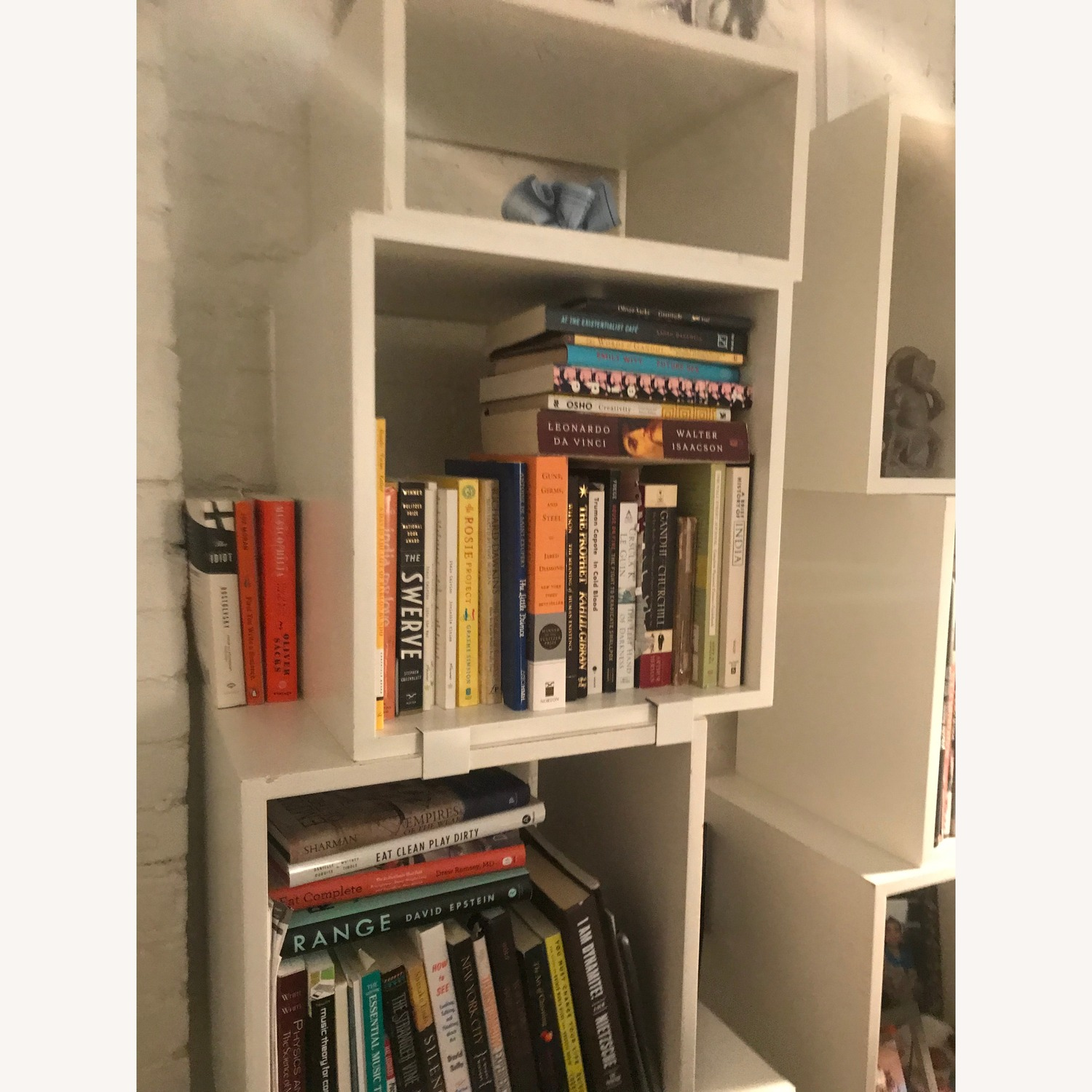 Design Within Reach White Modular Bookcase - image-1