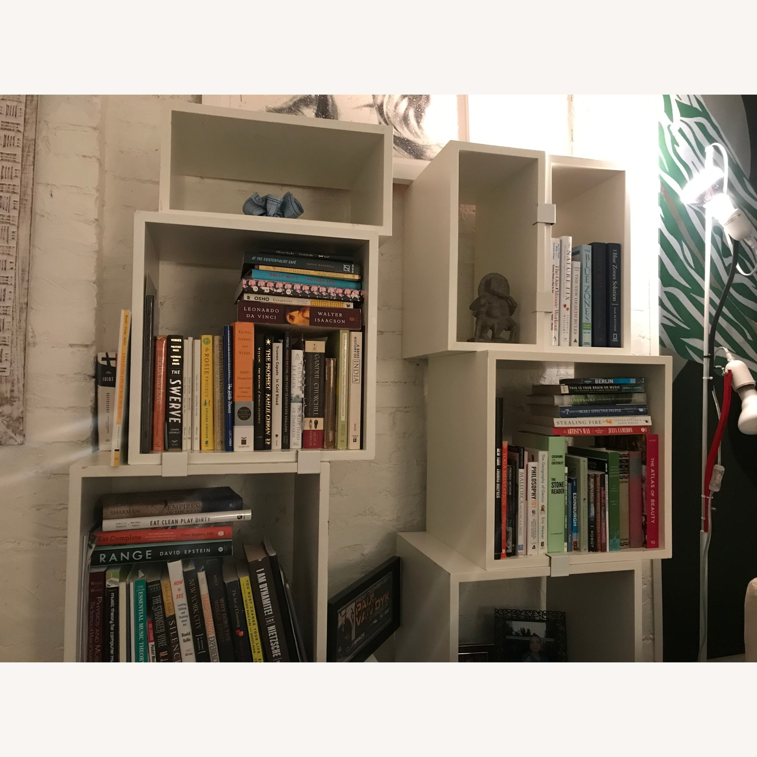 Design Within Reach White Modular Bookcase - image-2