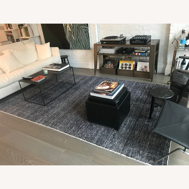 ABC Carpet - Black, Gray, Natural Tweed Area Rug - image-1