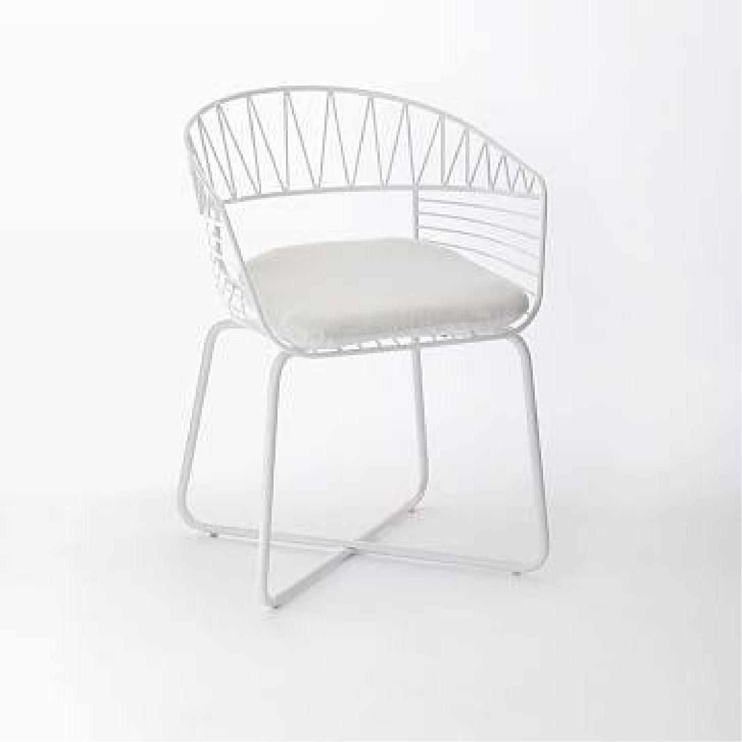 West Elm-Rayas Wire Dining Chair - image-6