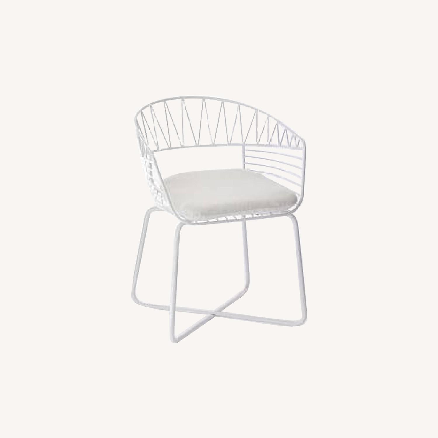 West Elm-Rayas Wire Dining Chair - image-0