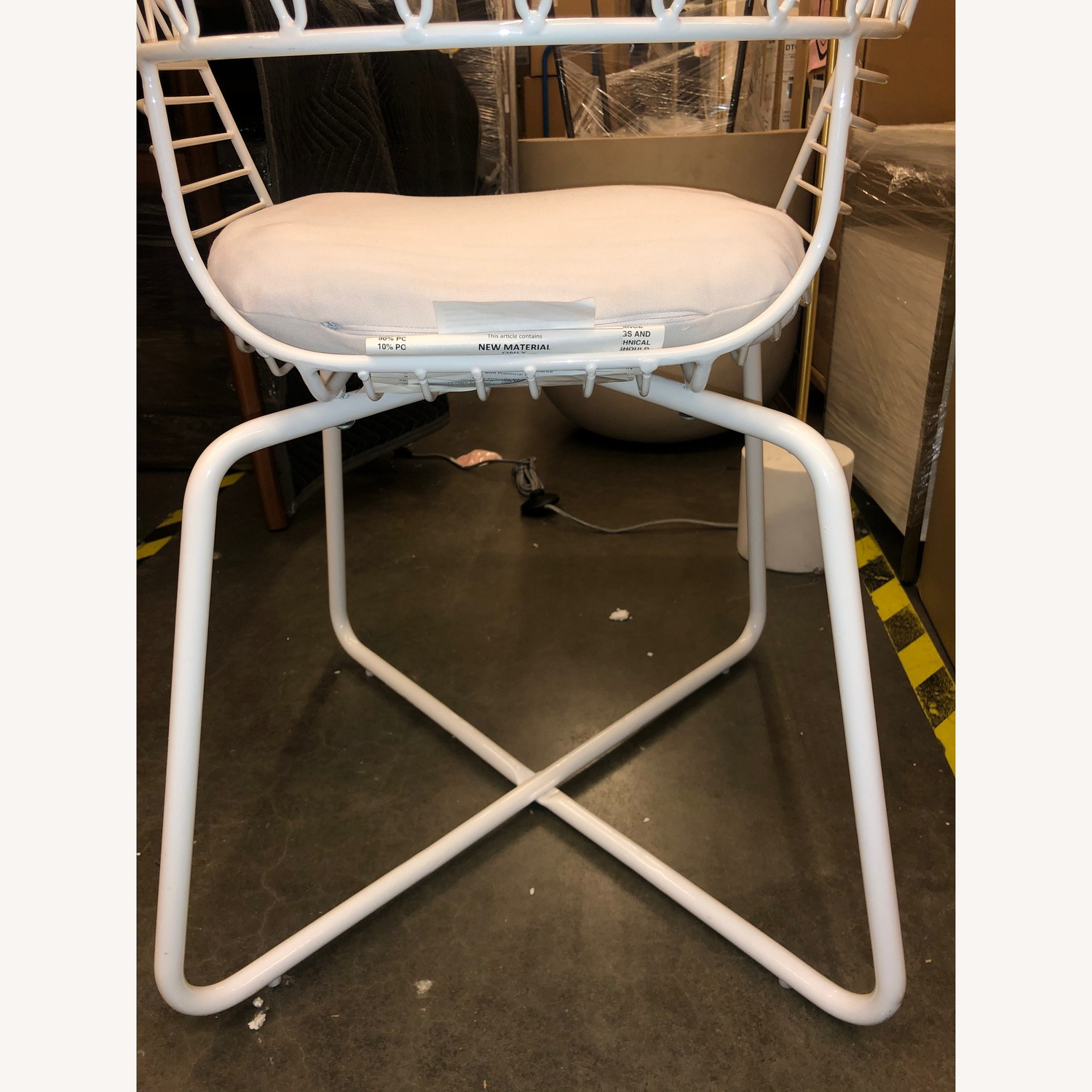 West Elm-Rayas Wire Dining Chair - image-5