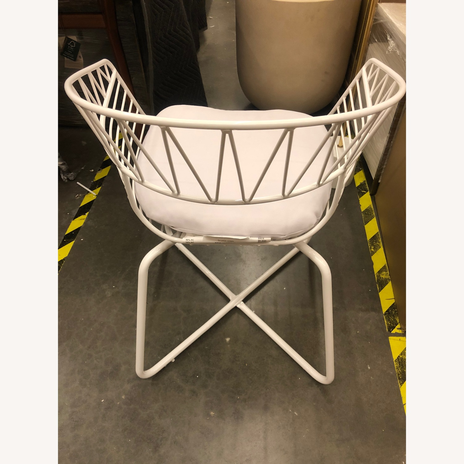 West Elm-Rayas Wire Dining Chair - image-3