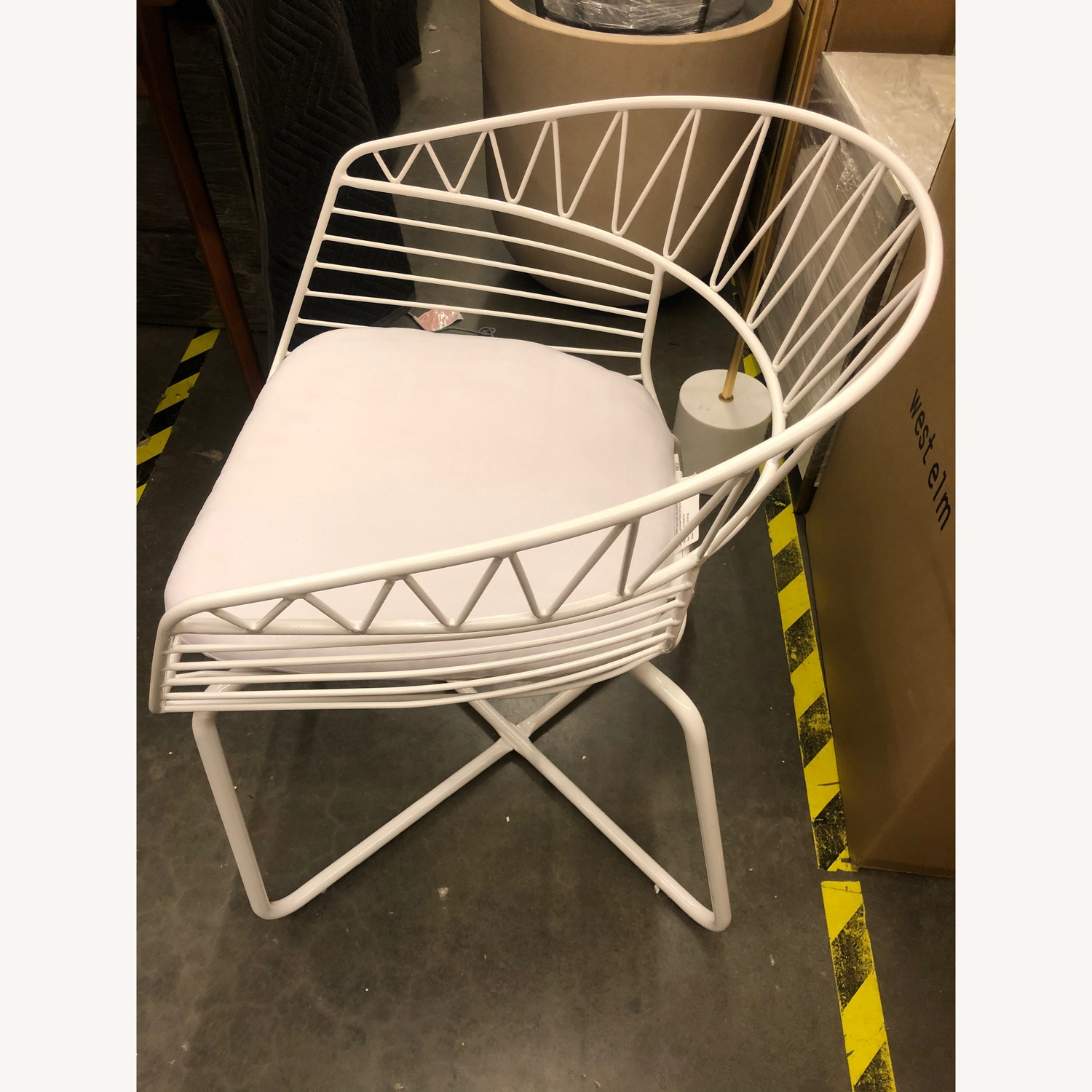 West Elm-Rayas Wire Dining Chair - image-2