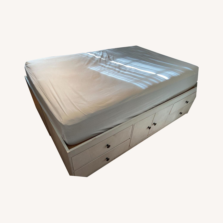 Full Size Platform Storage Bed - image-0