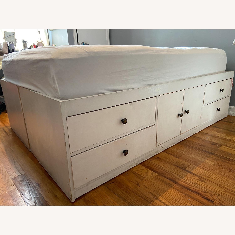 Full Size Platform Storage Bed - image-1