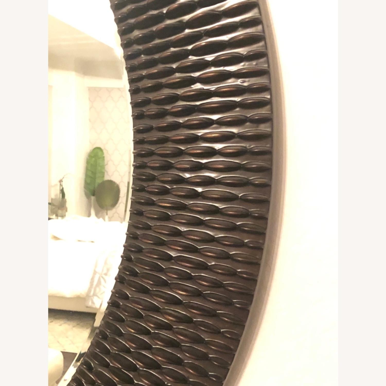 Z Gallerie Oversized Round Wall Mirror - Espresso - image-4