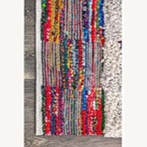 Used nuLoom Abstract Shaggy Kerstin Rug for sale on AptDeco