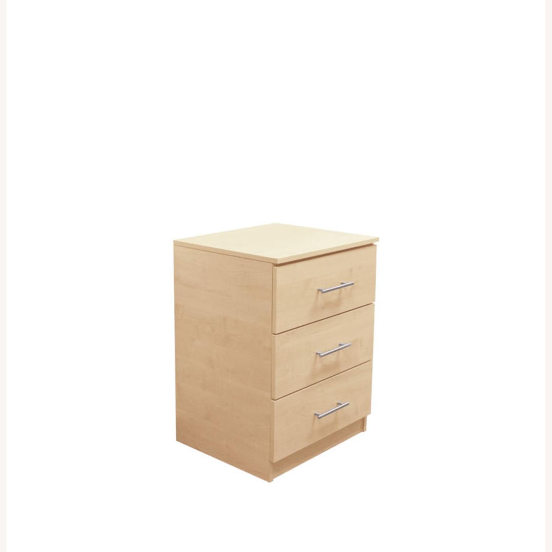 3-drawer Nightstand - image-0