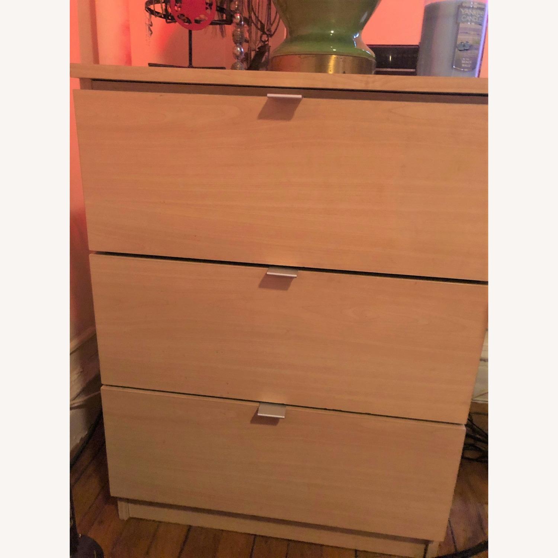 3-drawer Nightstand - image-1