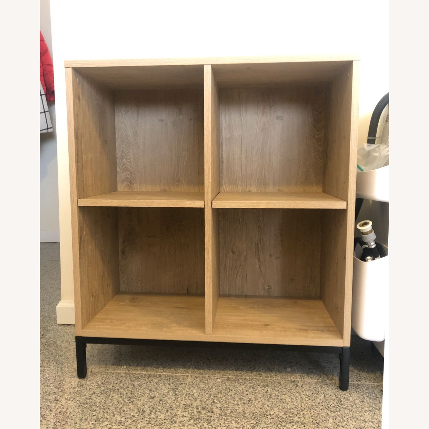 Project 62 4-Cube Bookcase in Vintage Oak - image-2