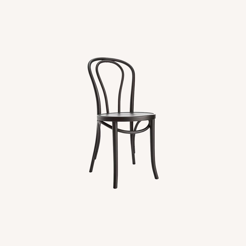 Vienna Matte Black Dining Chair - image-0