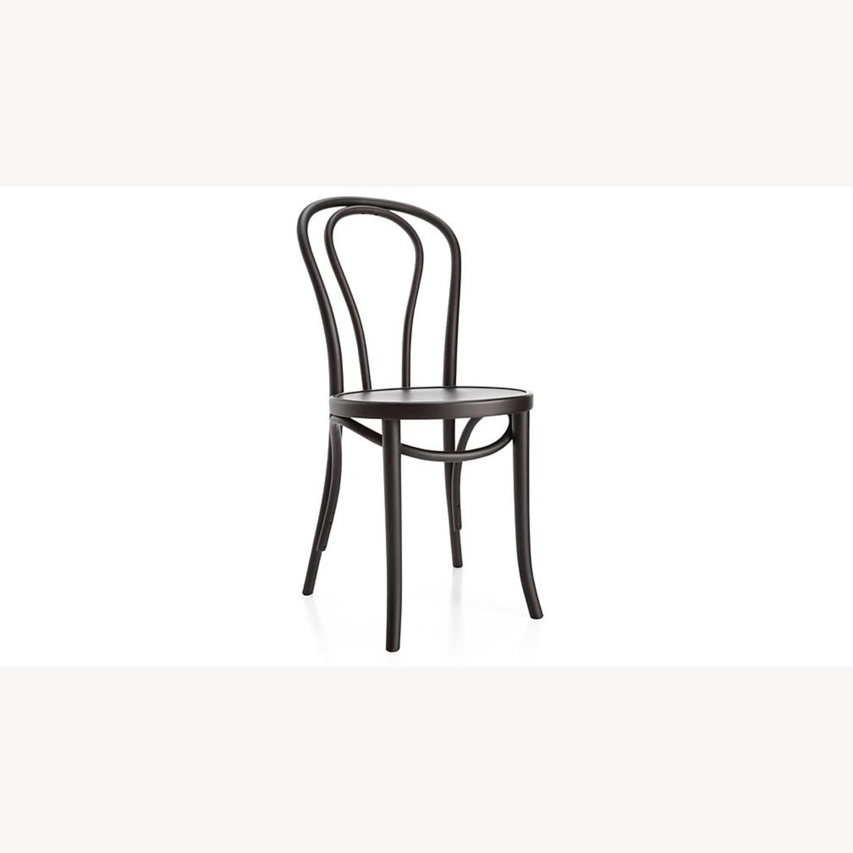 Vienna Matte Black Dining Chair - image-9