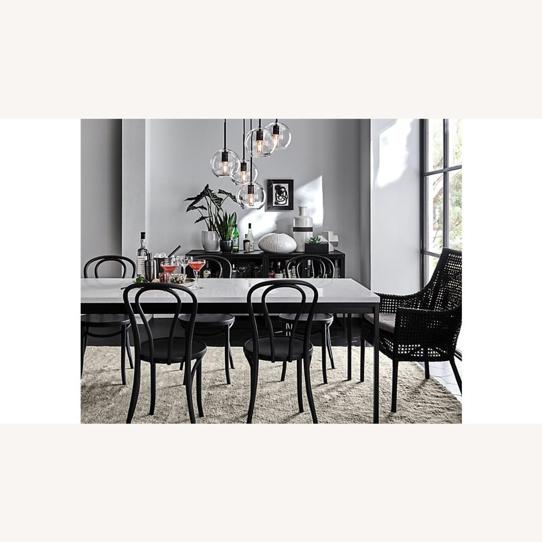Vienna Matte Black Dining Chair - image-7