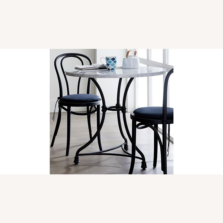 Vienna Matte Black Dining Chair - image-2