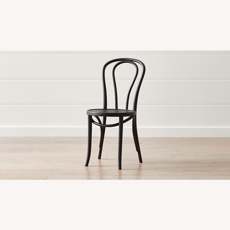 Vienna Matte Black Dining Chair - image-1