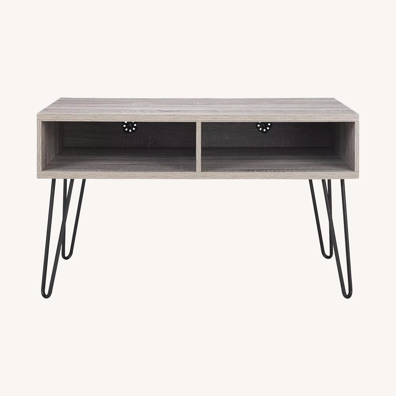 TV Stand with Hairpin Metal legs - image-0