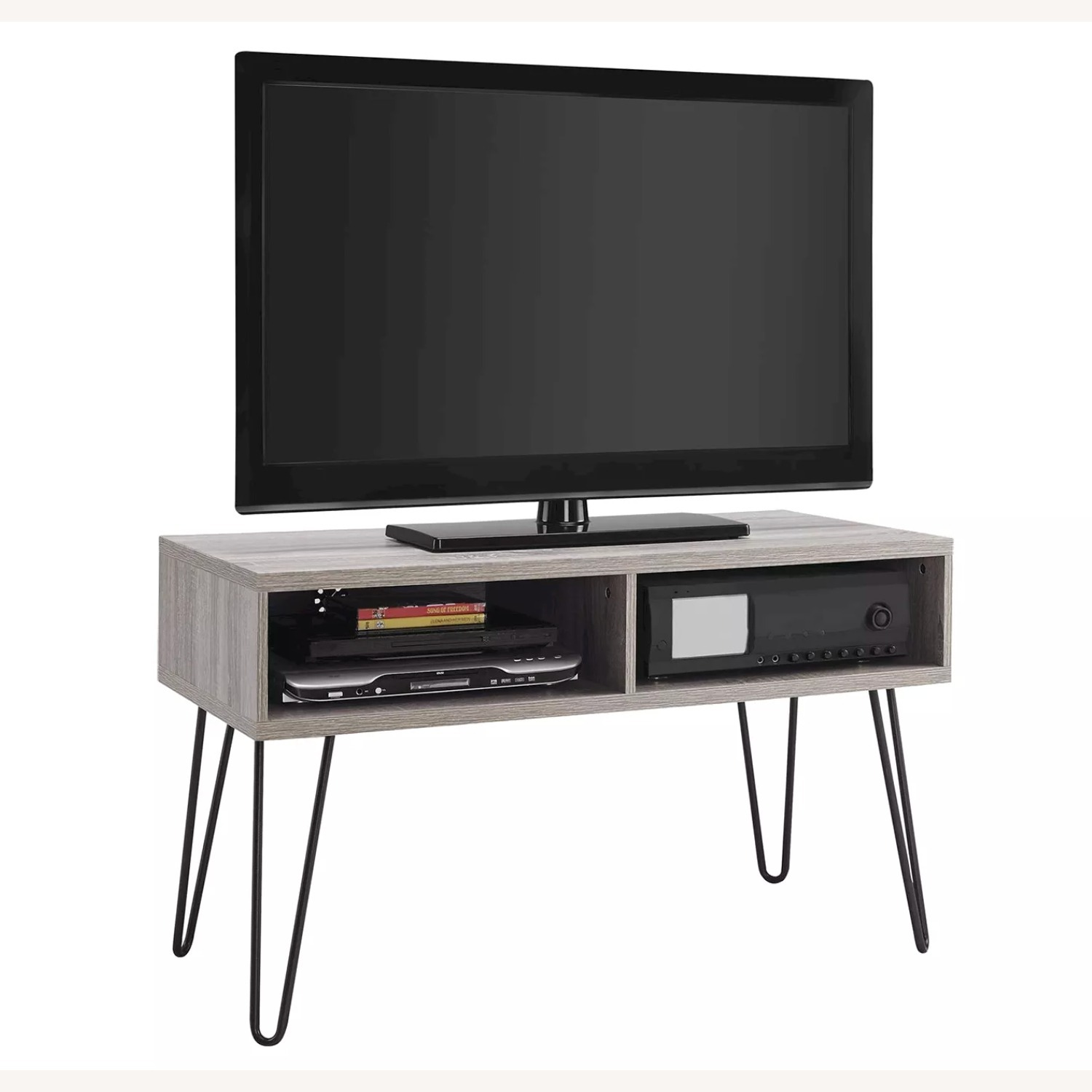 TV Stand with Hairpin Metal legs - image-2