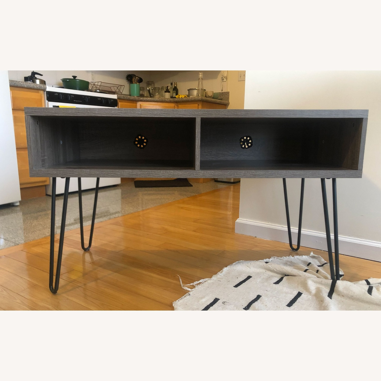 TV Stand with Hairpin Metal legs - image-3