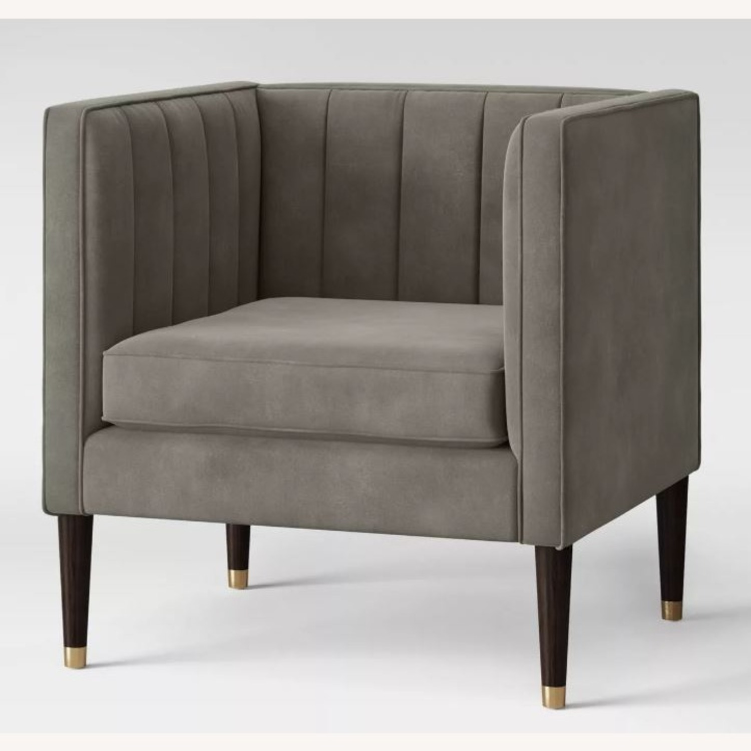 Target Modern Grey Tufted Accent Chair