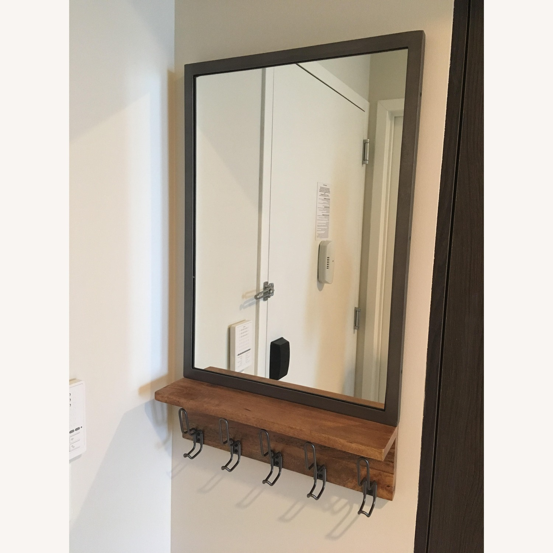 West Elm Industrial Modular Entryway Mirror - image-2