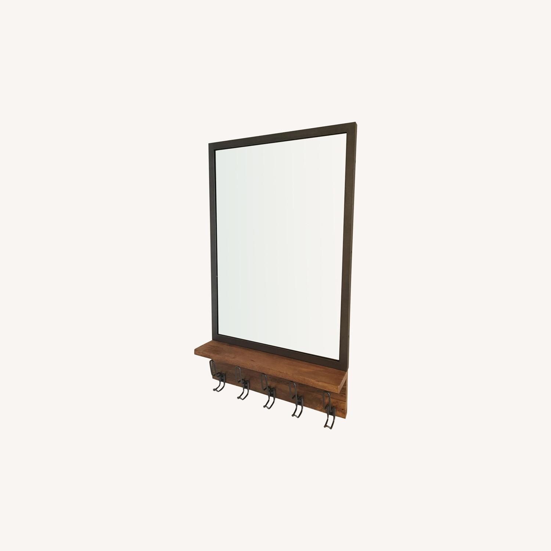 West Elm Industrial Modular Entryway Mirror - image-0