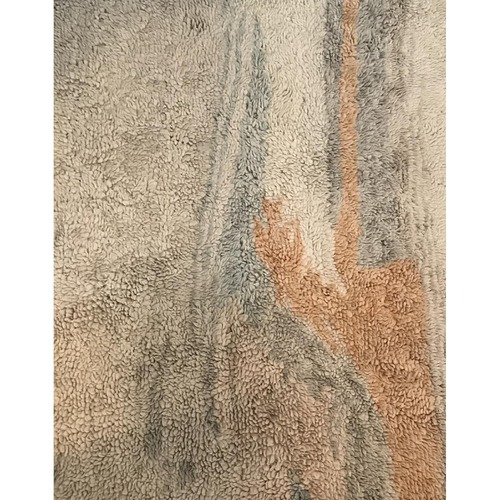 Used West Elm Marbled Wool Shag Rug 8x10 for sale on AptDeco