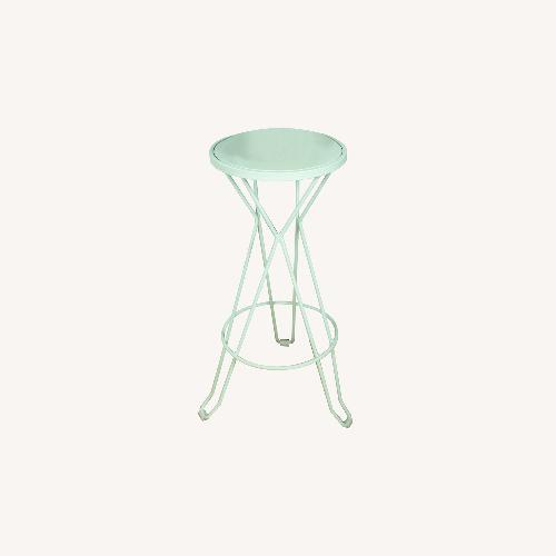 Used Green Indoor/Outdoor Steel Tables for sale on AptDeco