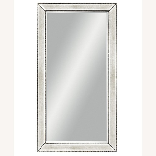 Used Macy's Marais Mirrored Floor Mirror for sale on AptDeco