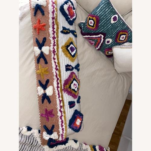 Used Anthropologie Boho Throw Pillow for sale on AptDeco