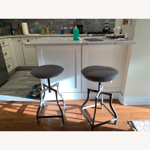 Used Crate & Barrel Adjustable Counter Stool for sale on AptDeco