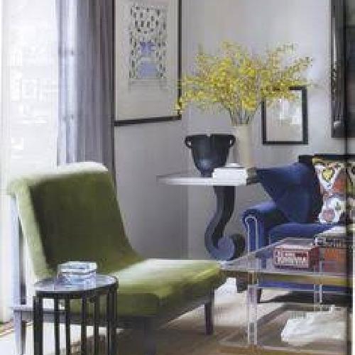 Used Carolina George 5 o'clock Slipper Chair for sale on AptDeco